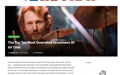 The Z Review's Top 10 Overrated Drummers